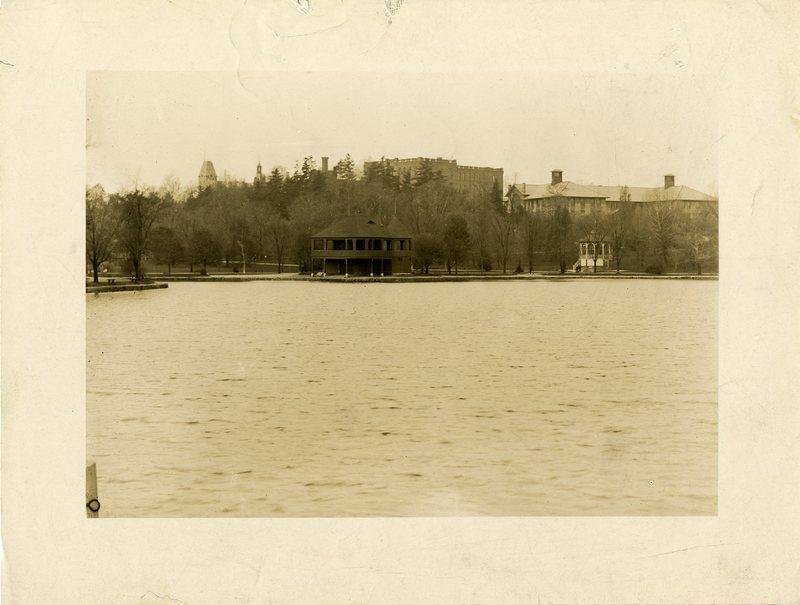 WPI Behind the Boathouse
