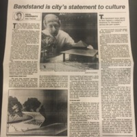 Bandstand is city's statement to culture