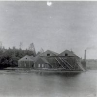 9 - Walker Ice Houses at Salisbury Pond destroyed by fire  July 4, 1899 PGF1578.jpg